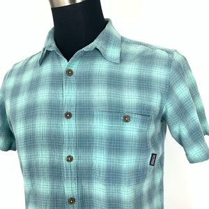 Patagonia Organic Cotton Short Sleeve Button Up